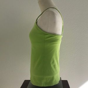 lululemon athletica Tops - Lululemon Power Y Tank—Lime Green